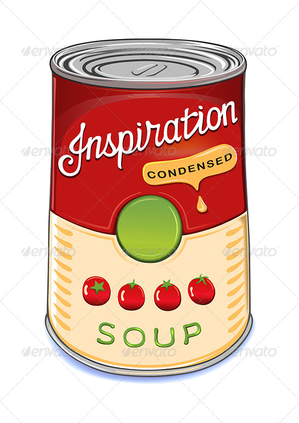 Can of Condensed Tomato Soup Inspiration - Retail Commercial / Shopping