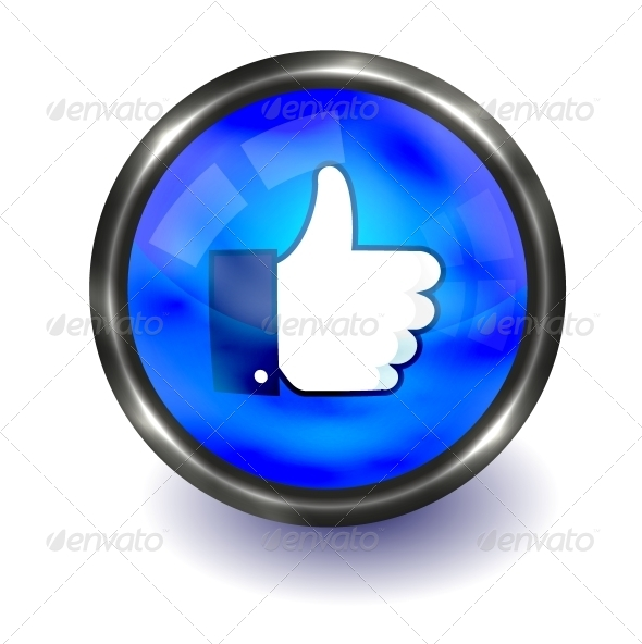 Thumb Up Button - Web Technology