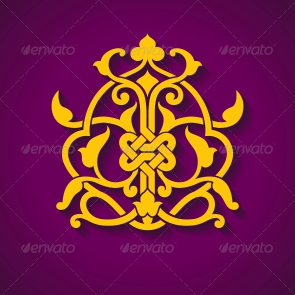 Abstract Arabic Symbol - Decorative Symbols Decorative