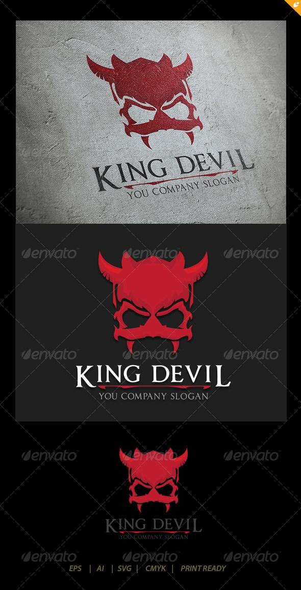 King Devil - Crests Logo Templates