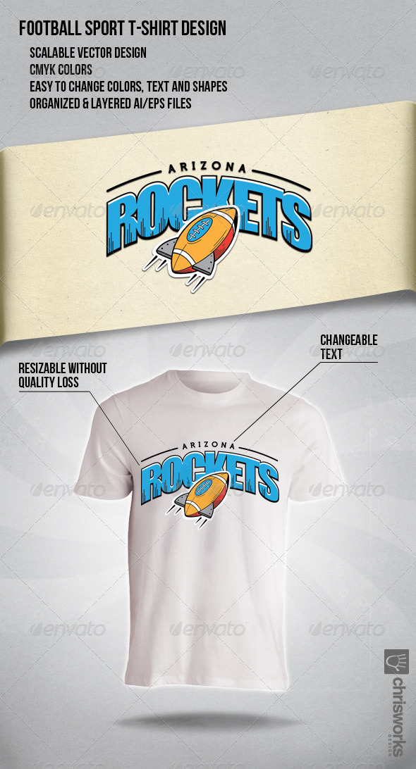 Arizona Rockets - Sports & Teams T-Shirts
