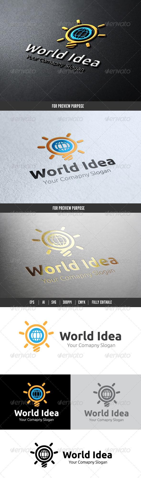 World Idea - Objects Logo Templates