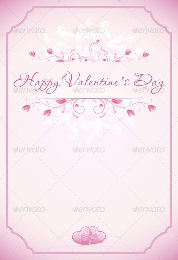 Happy Valentines Day Card - Valentines Seasons/Holidays