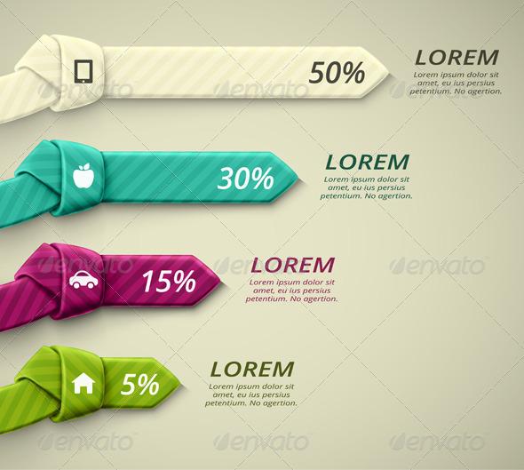 Percent Statistics - Infographics
