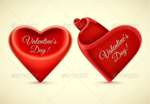 Isolated Hearts - Valentines Seasons/Holidays