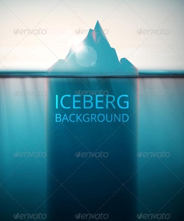 Iceberg Background - Landscapes Nature