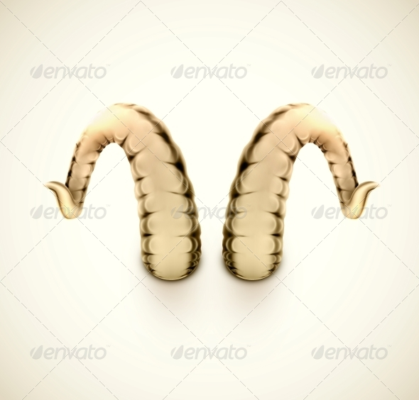 Isolated Horns - Miscellaneous Vectors