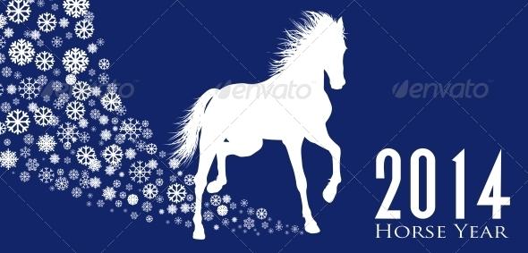 Horse  Year - New Year Seasons/Holidays