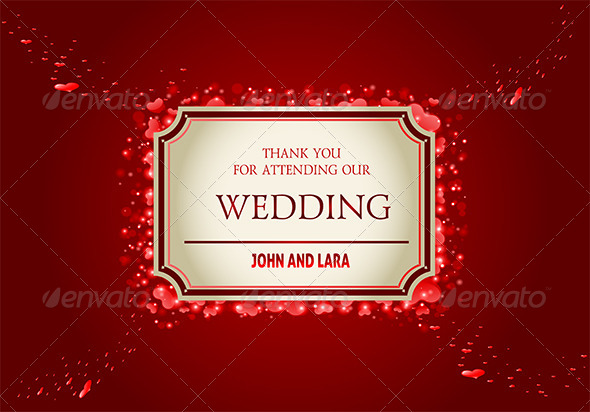 Wedding Invitation Card - Weddings Seasons/Holidays