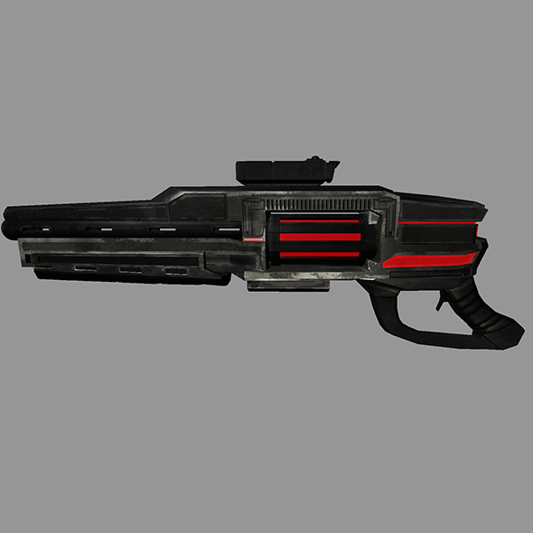 Sci-Fi Gun #2 - 3DOcean Item for Sale