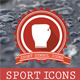Sport Badges Icons - GraphicRiver Item for Sale