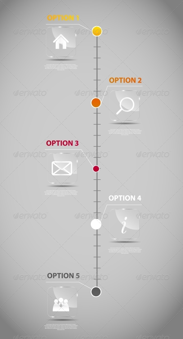 Timeline Infographic Business Template By Yganko | Graphicriver