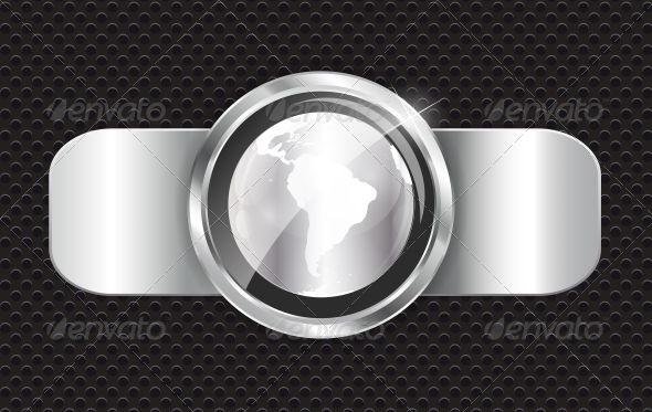 Abstract Metal Background - Web Technology