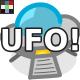 '70s Retro Sci-Fi UFO