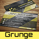 Super Grunge Business Card - GraphicRiver Item for Sale