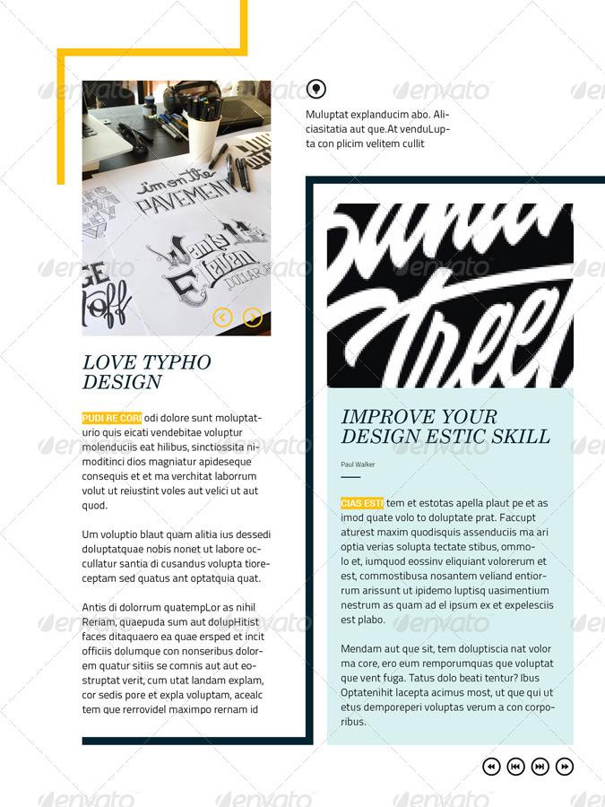 Interactive Magazine Template By Broluthfi Graphicriver
