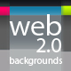 Clean Web 2.0 Backgrounds & Background Maker - GraphicRiver Item for Sale