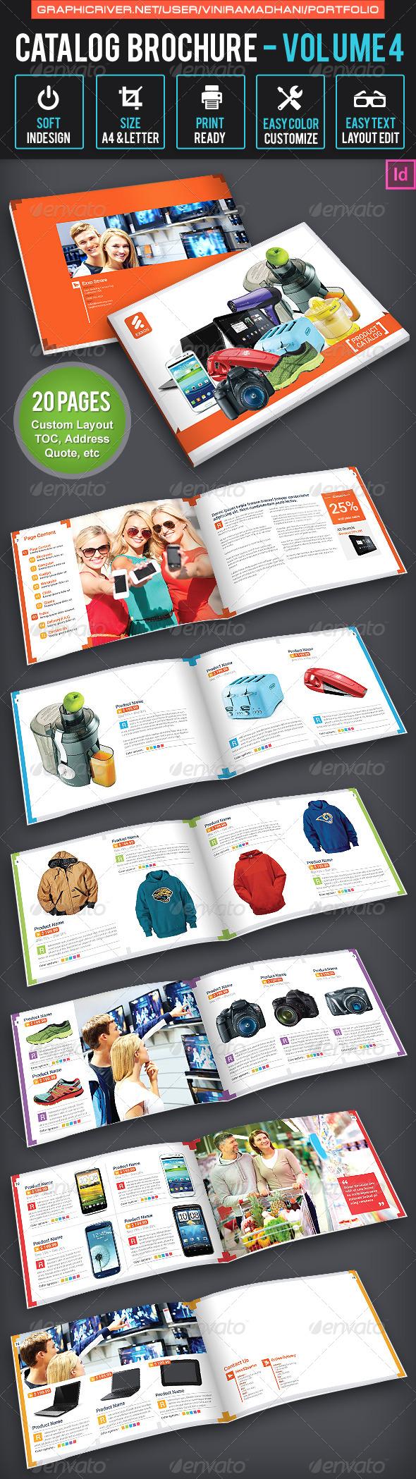 Product Catalogs Brochure | Volume 4 - Catalogs Brochures