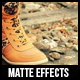 Matte Photo Effects - GraphicRiver Item for Sale