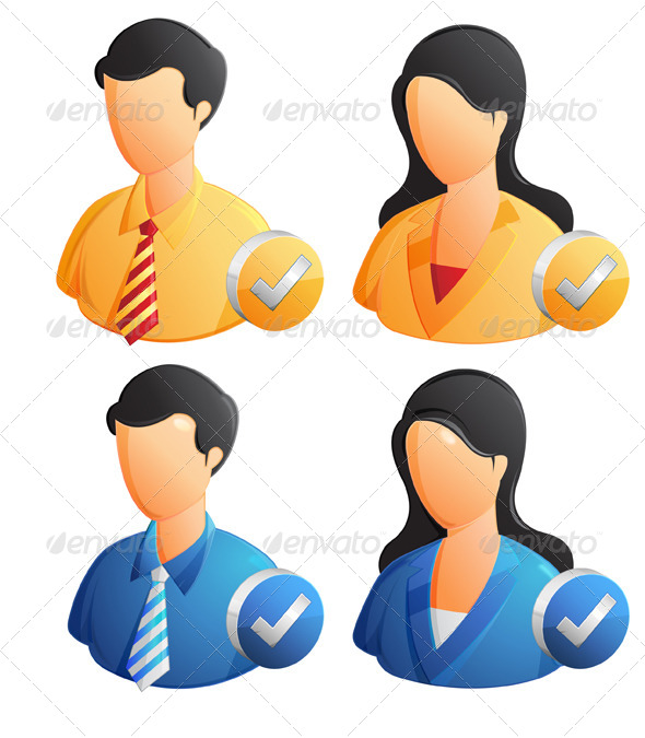 User Profile  Illustration - People Characters
