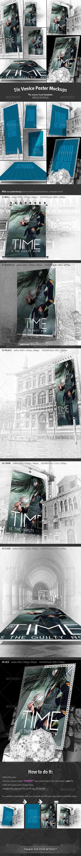 6 Venice Poster Mockups - Posters Print