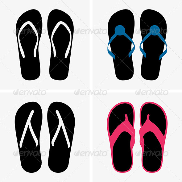 Beach Shoes - Seasons/Holidays Conceptual