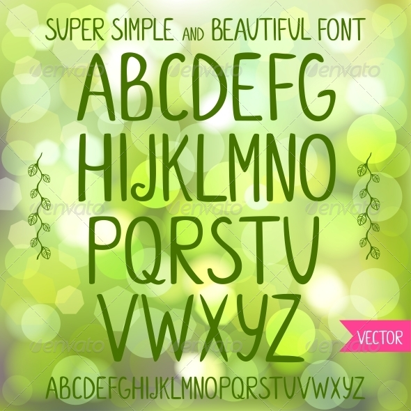 Font - Miscellaneous Vectors