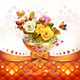 Roses with Orange Bow  - GraphicRiver Item for Sale