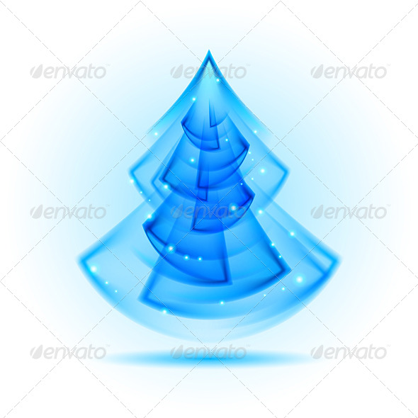 Abstract Christmas Tree - Miscellaneous Vectors
