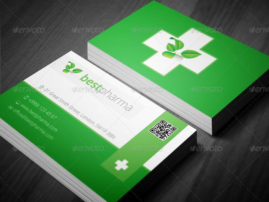 pharmacy business card - Pharmacy Business Cards