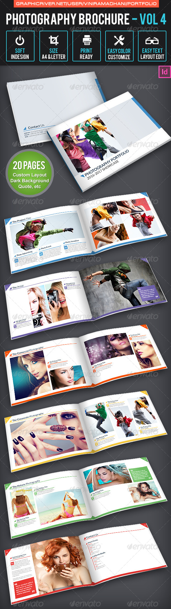 Photography Brochure | Volume 4 - Portfolio Brochures