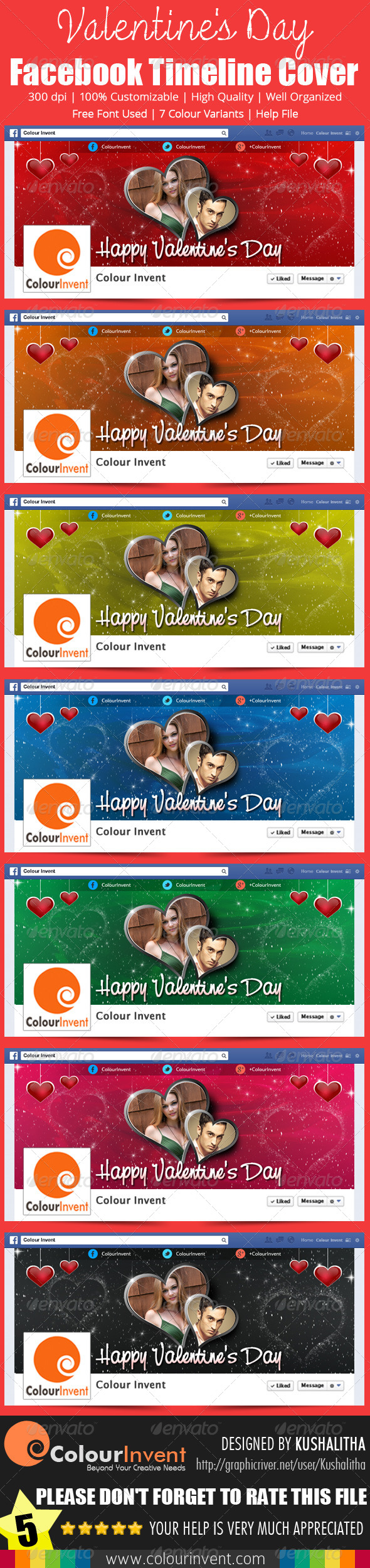 Valentine's Day Facebook Cover - Facebook Timeline Covers Social Media