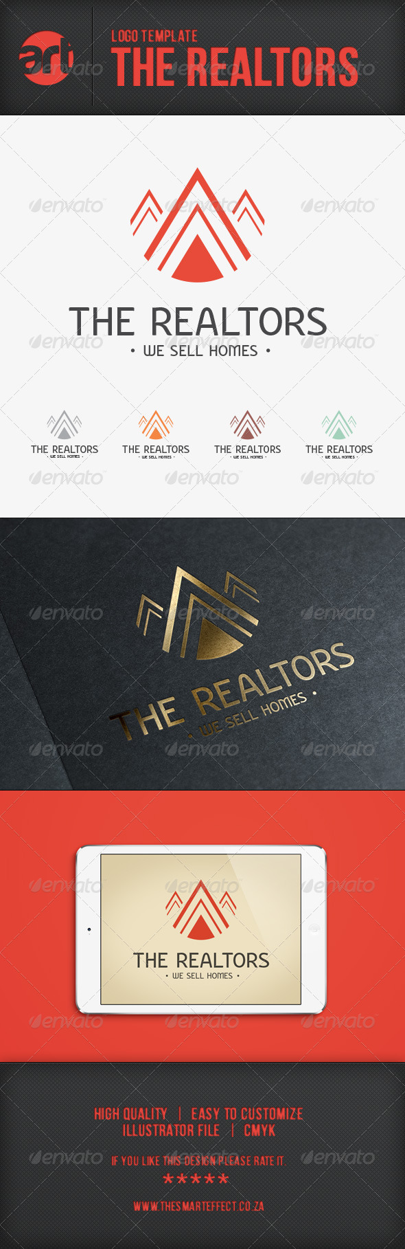 The Realtors Logo Template - Buildings Logo Templates