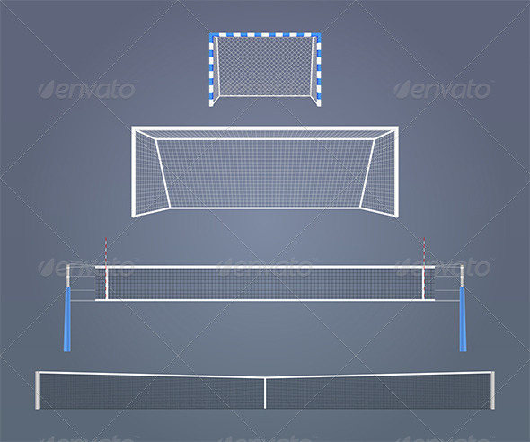 Sports Gates and Nets - Man-made Objects Objects
