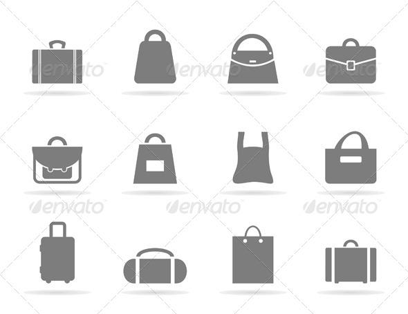 Bag Icons - Miscellaneous Vectors