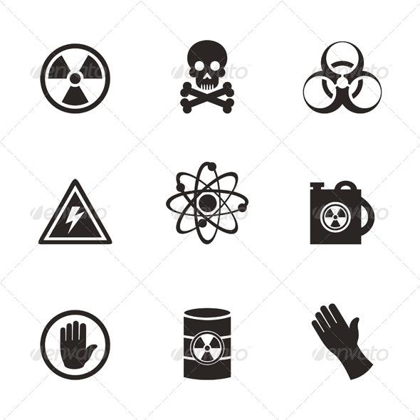 Danger Icons - Miscellaneous Vectors