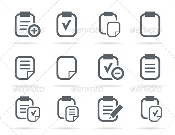 File Icons - Miscellaneous Vectors
