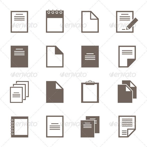 File Icons 2 - Miscellaneous Vectors