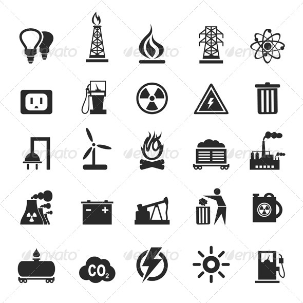 Industrial Icons 3 - Miscellaneous Vectors