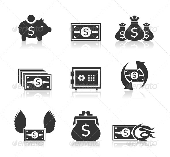 Money Icons 3 - Concepts Business