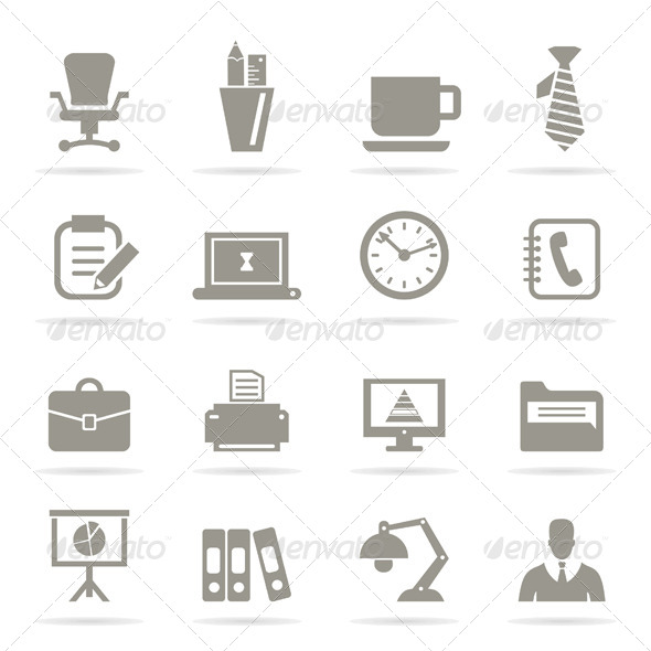 Office Icons - Miscellaneous Vectors