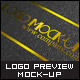 5 Styles Logo Preview Mock-ups - GraphicRiver Item for Sale