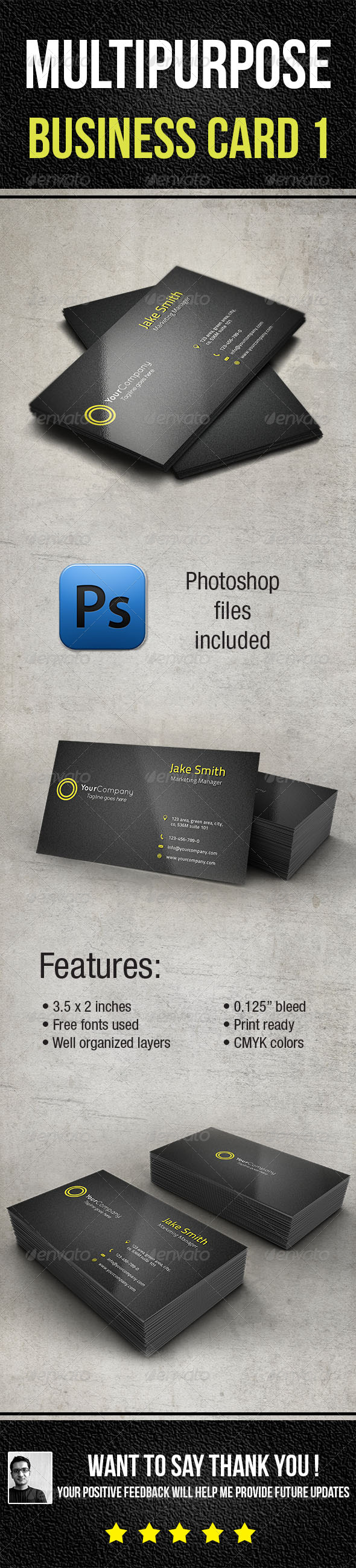 Multi-Purpose Business Card 1 - Corporate Business Cards