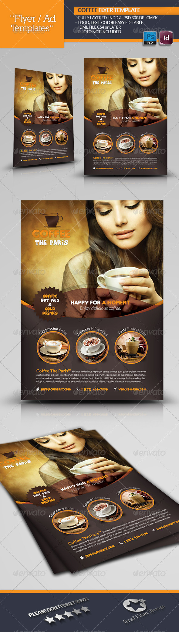 Coffee Flyer Template - Corporate Flyers