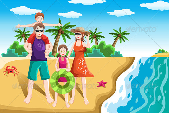Family Vacation - Travel Conceptual