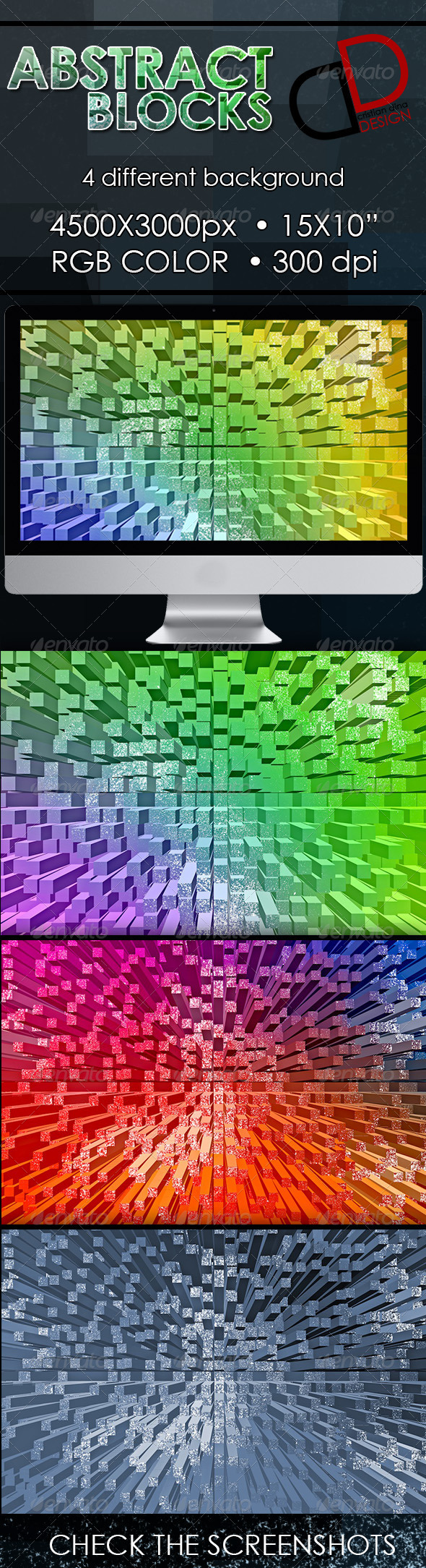 Abstract Blocks Backgrounds - Backgrounds Graphics