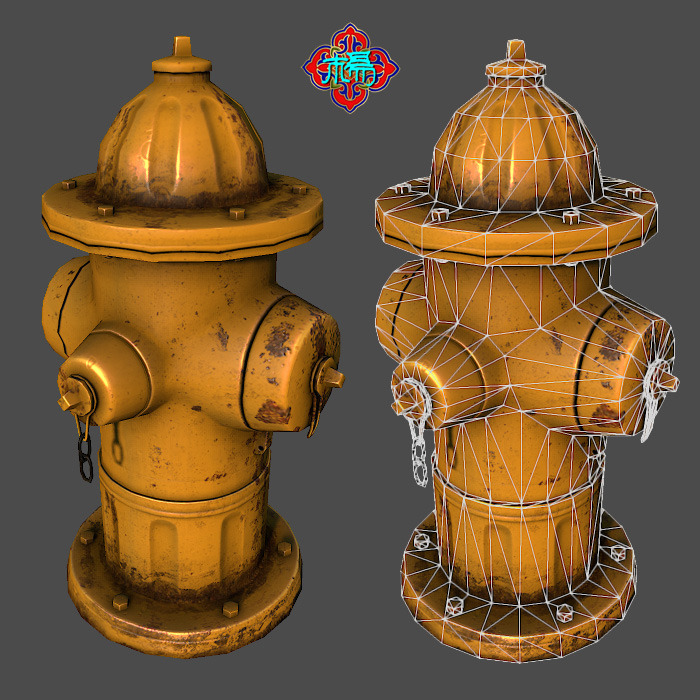 Fire Hydrant (Lowploy version)