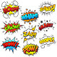 Comic Sound Effects - GraphicRiver Item for Sale