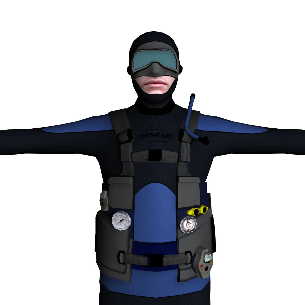 Scuba Diver 01