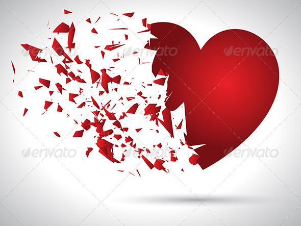 Exploding Heart - Valentines Seasons/Holidays